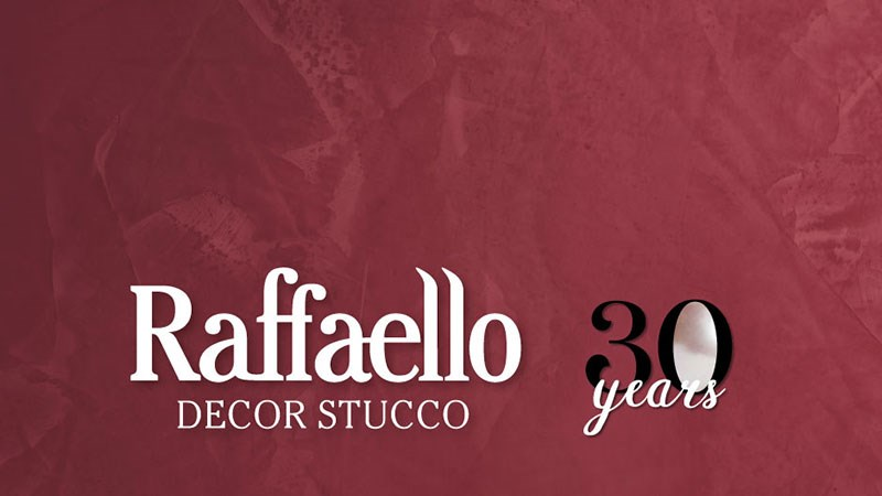 ОН-ЛАЙН ПРЕЗЕНТАЦИЯ «RAFFAELLO DECOR STUCCO, 30 ЛЕТ»